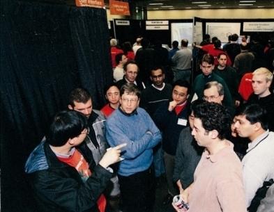 盖茨与微软亚洲研究院