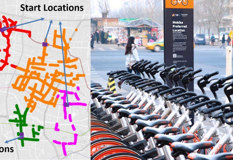 共享单车轨迹数据助力城市合理规划自行车道