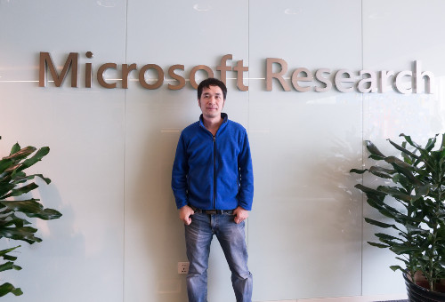 Image for 杨懋:携手微软亚洲研究院12年,只若初见