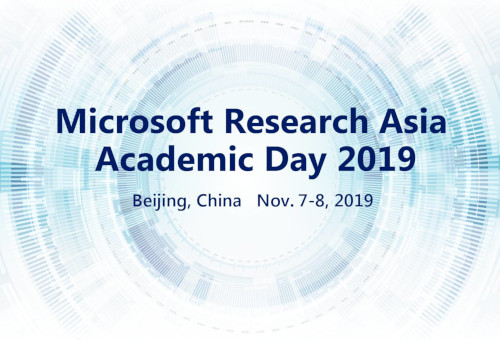 Image for MSRA Academic Day 2019