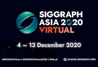 Image for SIGGRAPH ASIA 2020 甘肃快三论文精选