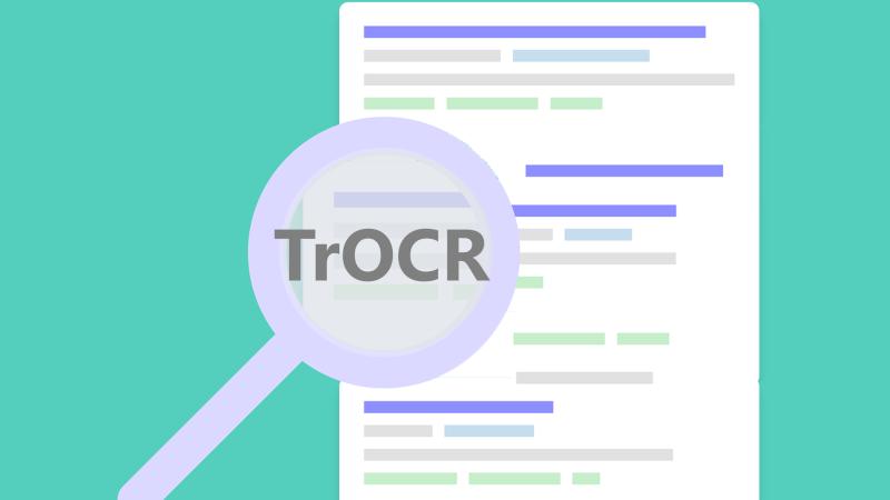 Image for TrOCR:基于Transformer的新一代光学字符识别